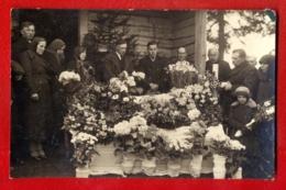 Antique Post Mortem Woman In Casket Vintage Funeral Photo Postcard 259 - Cartoline
