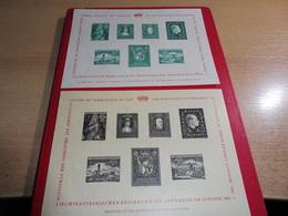 Lichtenstein**/o, Viele KLB Auf Leuchtturm, Mit 52 Bildern Alles Bebildert - Sammlungen (ohne Album)