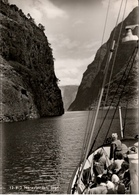 ! S/w Ansichtskarte Naeroyfjorden, Sogn, Norwegen, Norway, Norvege, Norge - Norvège