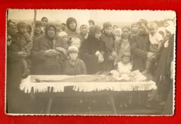 Antique Post Mortem Woman In Casket Funeral Vintage Photo Postcard 17 - Postcards