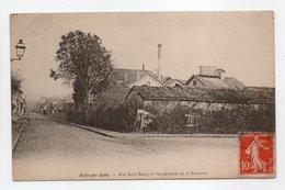 - CPA ARCIS-SUR-AUBE (10) - Rue Saint-Remy Et Vue Générale De La Brasserie 1915 - - Arcis Sur Aube
