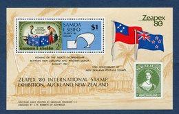 Samoa - YT Bloc N° 25 - Neuf Sans Charnière - 1981 - Samoa