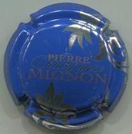CAPSULE-CHAMPAGNE MIGNON Pierre N°061i Fond Bleu, Feuilles Argent - Mignon, Pierre