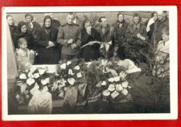 Antique Post Mortem MAN In Casket Vintage Funeral Photo Card 1598 - Cartoline