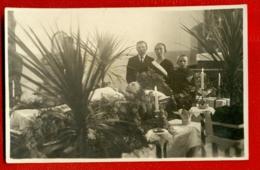 Antique Post Mortem Man In Casket Vintage Funeral Photo Pc. 3338 - Cartes Postales