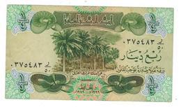 Iraq, 1/4  Dinar 1979, VF+. - Iraq