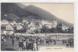 Disentis - Viehmarkt - 1910           (P-203-90309) - GR Grisons