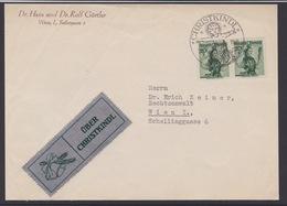 Christkindl Weihnachten Sonderstempel Briefstück Mit LZ 1954 - FDC