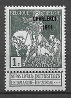 OBP101, Postfris** - 1910-1911 Caritas