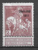 OBP103, Postfris** - 1910-1911 Caritas