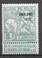 OBP104, Postfris** - 1910-1911 Caritas