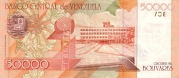 Venezuela P.83    50000 New  Bolivares 1998 Unc - Venezuela