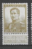 OBP112, Postfris** - 1912 Pellens