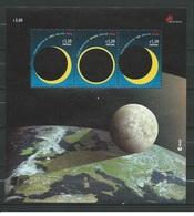Portugal 2005 - Solar Eclipse Miniature Sheet Mnh - Vignette Di Affrancatura (ATM/Frama)