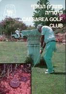 ! Moderne Ansichtskarte Caesarea Golf Club, Israel - Israel