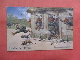 Hinter Der Front Military Humor  Ref 3817 - Humor
