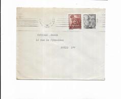 1955 HOTEL RESTAURANT YOLDI PAMPLONA ESPAGNE - Marcofilia - EMA ( Maquina De Huellas A Franquear)