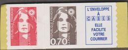 FRANCE MARIANNE DE BRIAT 1 T Xx N° YT 2874ca (TVP + 0,70 + Vignette) - Provenant Des Carnets 1504-05 - 1989-96 Bicentenial Marianne