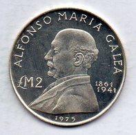MALTA, 2 Lire, Silver, Year 1975, KM #30 - Malta