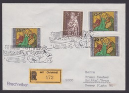 Christkindl Weihnachten Sonderstempel Reco 29.12.1976 - FDC
