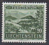 Liechtenstein 1953 Prähistorische Funde / Wallsiedlung Borscht 20Rp * Mh (= Mint, Hinged)  (45779) - Unused Stamps