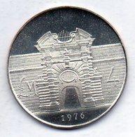 MALTA, 4 Lire, Silver, Year 1976, KM #41 - Malta