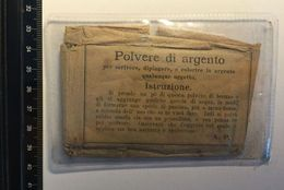 Polvere Di Argento Arte RESTAURO Opere D'arte Hobby Alluminio Oro Bronzo Argento Doratura Restoration - Altre Collezioni