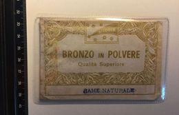 Silobin Bronze In Polvere Qualità Superiore Rame RESTAURO Opere D'arte Alluminio Oro Bronzo Argento Doratura Restoration - Altre Collezioni
