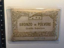 Silobin Bronze Polvere Qualità Superiore Campana RESTAURO Opere D'arte Alluminio Oro Bronzo Argento Doratura Restoration - Altre Collezioni