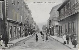DECAZEVILLE / Rue  Cayrade  Bien Animée - Decazeville