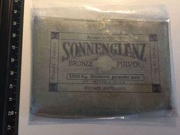 Sonnenglanz Bronze Pulver - RESTAURO Opere D'arte Hobby Alluminio Oro Bronzo Argento Doratura Restoration - Altre Collezioni