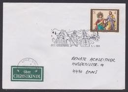 Christkindl Weihnachten Sonderstempel LZ 6.1.1984 - FDC