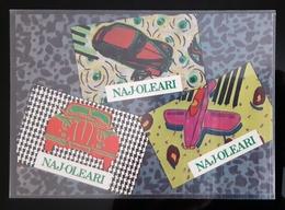 Naj-Oleari Fashion Carte Postale - Pubblicitari