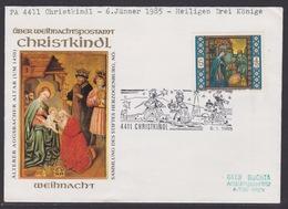 Christkindl Weihnachten Sonderstempel 6.1.1985 - FDC