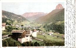 St. Ulrich Mit Sella Und Langkoflgruppe (326) * 28. 3. 1904 - Italie