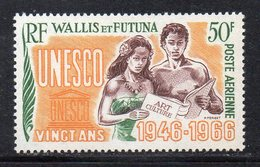 APR1352 - WALLIS FUTUNA 1966 , Aerea Yvert N. 28 MNH  *** (2380A) UNESCO - Posta Aerea