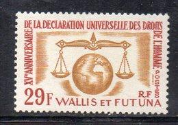 APR1279 - WALLIS FUTUNA 1963 ,  Yvert N. 169 MNH  *** (2380A) DIRITTI UOMO HOMME - Wallis E Futuna