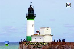 Set 6 Cartes Postales, Phares, Lighthouses Of Europe, France, Le Tréport, Le Phare Du Tréport - Vuurtorens