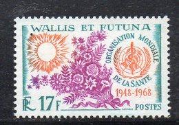 APR1181 - WALLIS AND FUTUNA 1968 , 20th ANNIVERSARY OF THE WHO ,  Yvert N. 172 MNH  *** (2380A) - Wallis E Futuna
