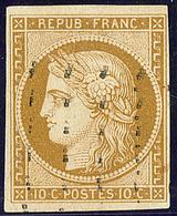 No 1, Obl Roulette De Points. - TB - 1849-1850 Cérès
