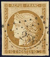 No 1a, Obl Pc 2642, Jolie Pièce. - TB - 1849-1850 Cérès