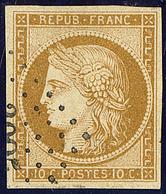 No 1a, Obl Pc. - TB - 1849-1850 Cérès