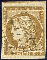 No 1b, Un Voisin, Obl Grille, Belle Nuance. - TB - 1849-1850 Cérès