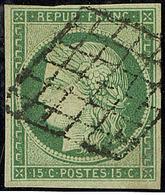 No 2, Obl Grille. - TB - 1849-1850 Cérès