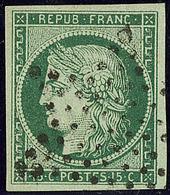 No 2b, Obl étoile, Très Frais. - TB. - R - 1849-1850 Cérès
