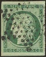 No 2b, Un Voisin, Obl étoile. - TB. - R - 1849-1850 Cérès