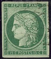 No 2b, Obl Grille Sans Fin. - TB - 1849-1850 Cérès