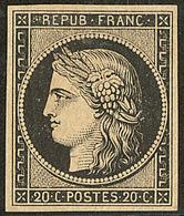 * No 3, Très Frais. - TB - 1849-1850 Cérès