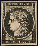 * Mise En Train. No 3. - TB - 1849-1850 Cérès