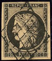 No 3b, Obl Grille. - TB - 1849-1850 Cérès